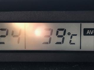 クルマの温度計